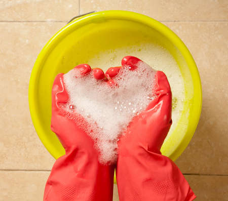 huis opruimen: Huis schoonmaken