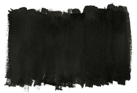 Abstract black brush strokes photo