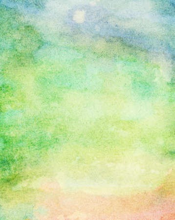 Abstract colorful watercolor background photo