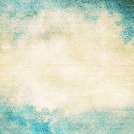 watercolour painting: Abstract grunge watercolor background  Stock Photo