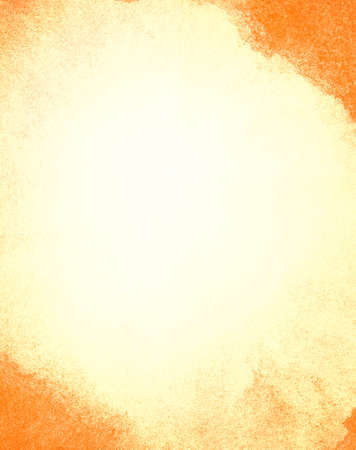Abstract orange watercolor background with space for text Stock Photo - 18560830