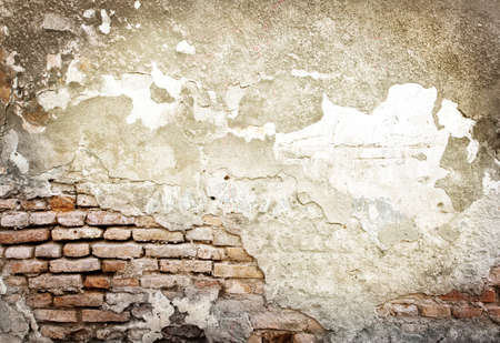 broken brick: Brick grunge wall background