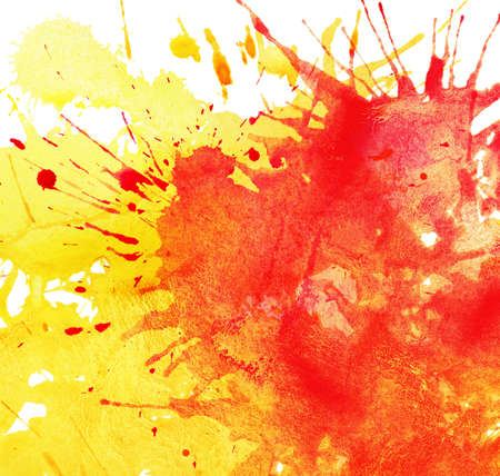 brushstrokes: Abstract watercolor splashes