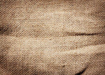 burlap: Old dirty burlap texture Stock Photo