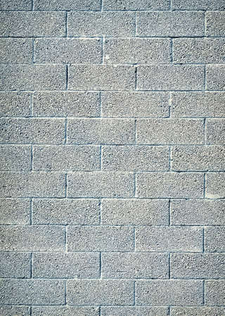 building exteriors: cinder block wall background, brick texture
