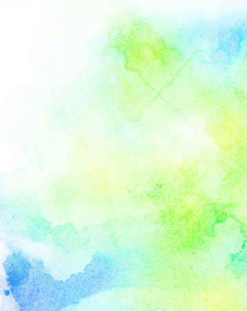 watercolor background: Abstract painted colorful watercolor background Stock Photo
