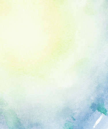 Abstract light colors watercolor background. Stock Photo - 22660553