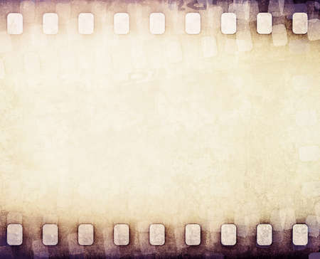 light brown film strip  免版税图像