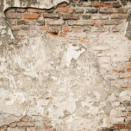 Brick grunge wall background photo