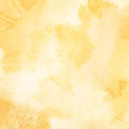 aquarelle: Résumé lumière de fond aquarelle d'orange