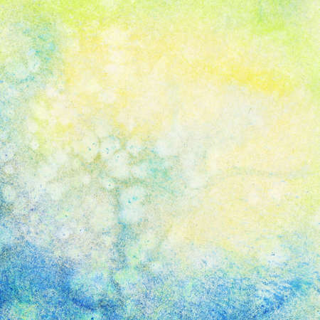 Abstract painted watercolor background photo
