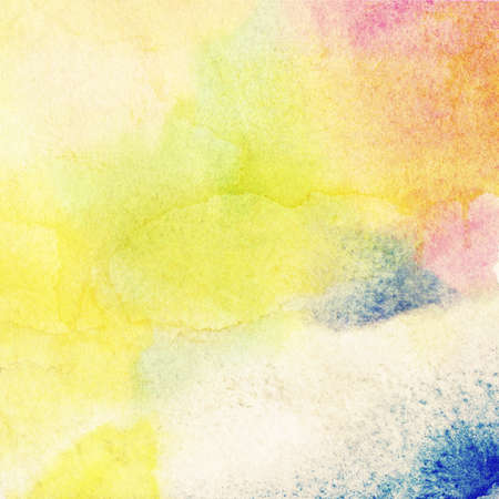 Abstract colorful watercolor background. photo