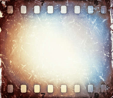 Colorful film strip background