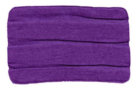 creasy: creasy purple jeans lable  Stock Photo