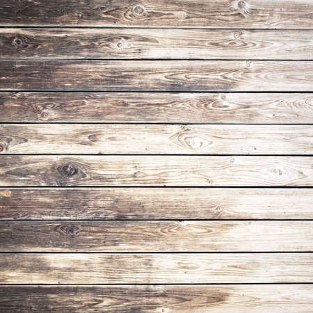 Old weathered wooden wall photo