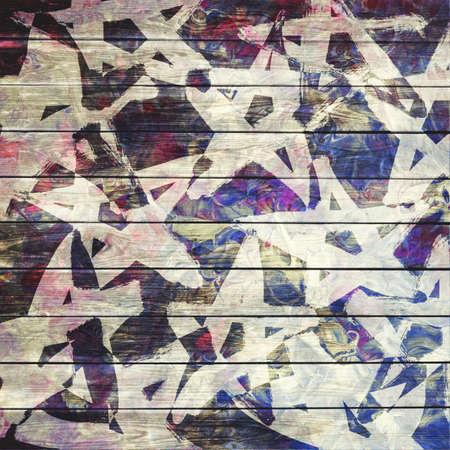 Art grunge texture, stars background photo