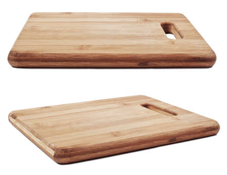 Collection of new cutting board for cooking. Stock Photo