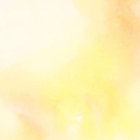 amarillo: Resumen de color de la luz de fondo de acuarela Foto de archivo