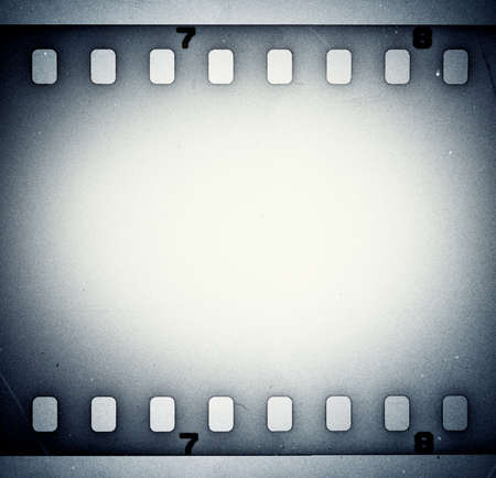 gray strip: Film strip background
