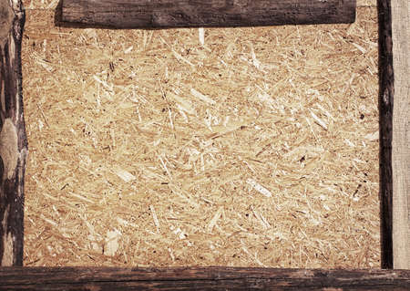 chipboard: Recycled compressed wood chipboard