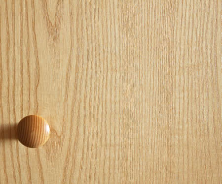 door handles: Door handle on wooden door