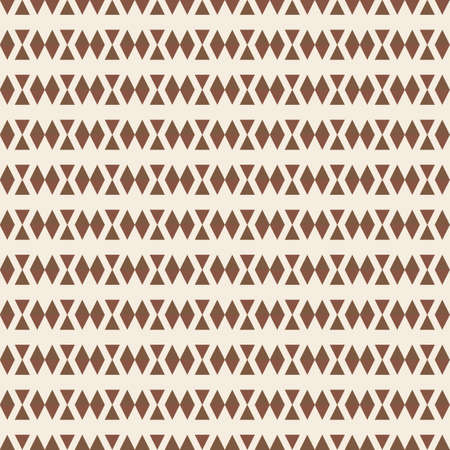 illsutration: Retro seamless pattern with triangle shapes  Vector illsutration