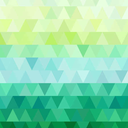 Light texture, pattern from trianle  Blue and green colors  Vector