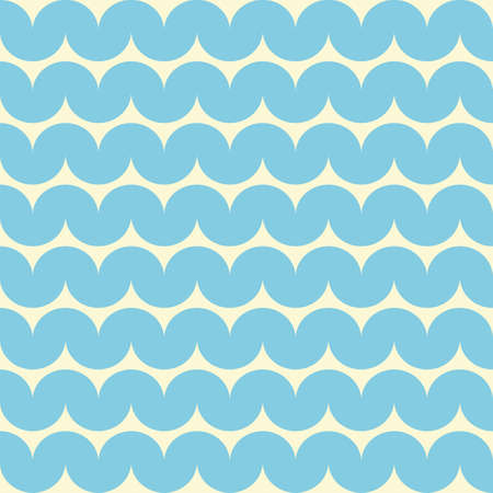 oceanic: Ocean water with waves  Seamless vector background  Illustration