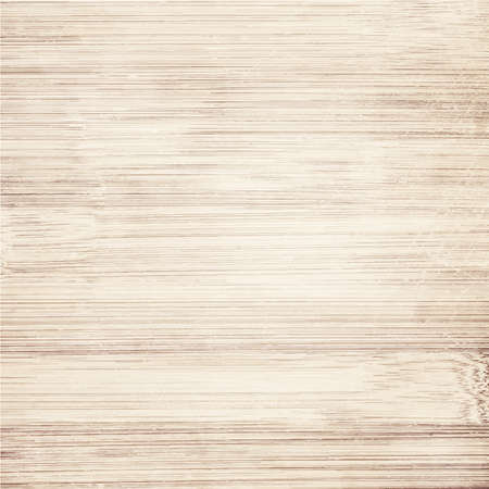 Light brown wooden planks texture  Vector wooden background