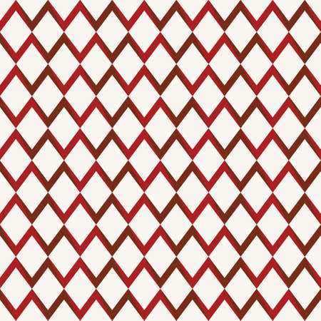 illsutration: Retro seamless pattern with triangles, rhombus shapes  Vector illsutration Illustration