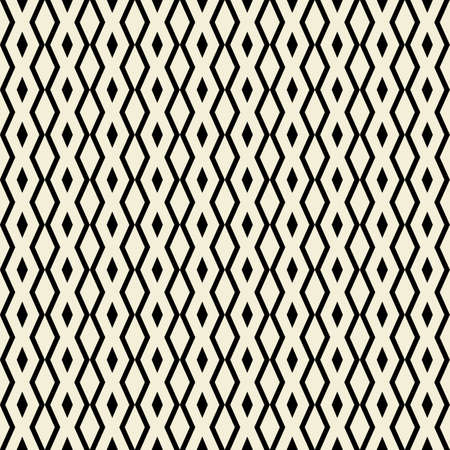 illsutration: Retro seamless pattern with triangles, rhombus shapes. Vector illsutration