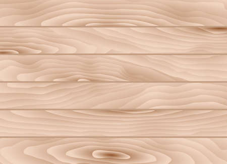 timber cutting: Light brown wooden planks. Vector illustration