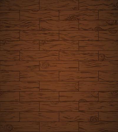 шпон: Темный деревянный пол с виньетка может использоваться в качестве фона.