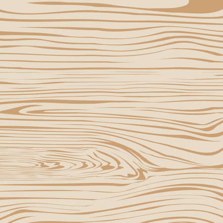 table surface: Light brown wooden plank, cutting board, floor or table surface. Vector illustration