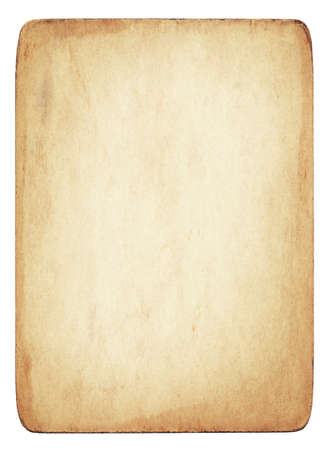parchment texture: Old dirty vintage  parchment with stained texture is isolate on white