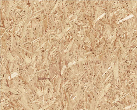 chipboard: Compressed light brown chipboard. Vector wood