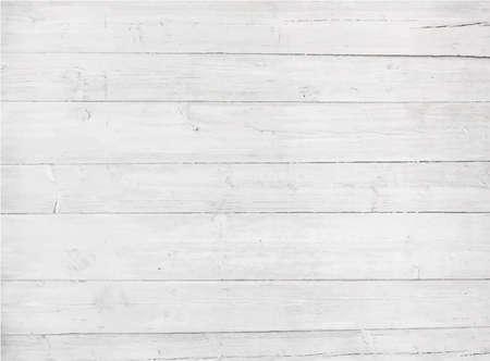 weiß: Weiß, grau hölzerne Wandbeschaffenheit, alte gemalt Kiefernbohlen Illustration