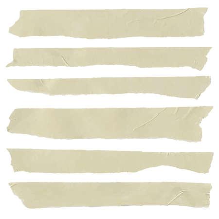 adhesive: Conjunto de tama�o de letra pegajosa horizontal y diferente, piezas adhesivas