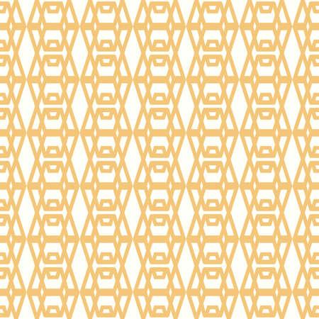 backdrop: Symmetrical yellow geometric shapes textile backdrop.