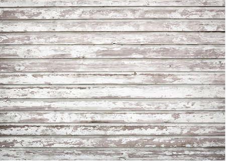 White, grey grunge wooden wall texture Illustration