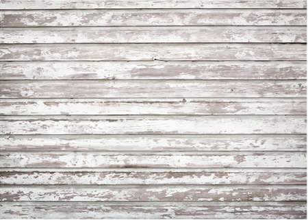 painted wood: White, grey grunge wooden wall texture Illustration