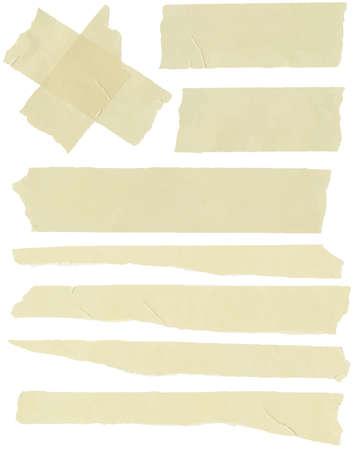 sticky tape: Ajuste del tama�o de la cinta adhesiva horizontal y diferente, piezas adhesivas