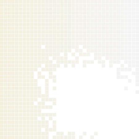 light brown: Light brown, gray squares pattern.