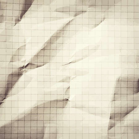 graphing: Arrugada en blanco gris matem�ticas, fondo de papel de cuadr�cula