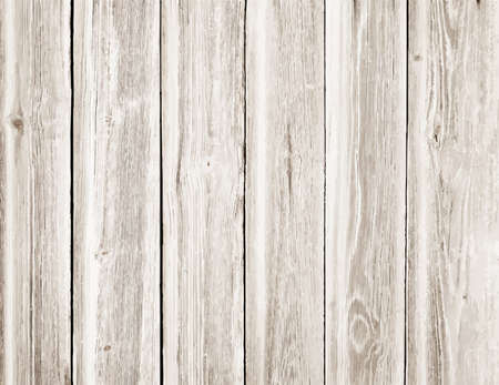 table surface: Light wooden texture with vertical planks or table, floor surface. Vector illustration