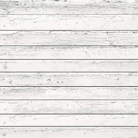 White, gray wooden wall texture, old painted pine planks