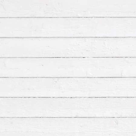 Wit geschilderde muur, omheining, vloer, tafelblad. Houten structuur. Vector illustratie
