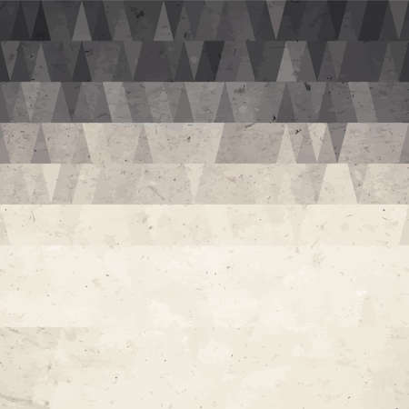 overlay: Abstract geometric background from watercolor triangle on grunge paper texture