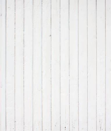 Pintado de blanco muro, valla, piso, superficie de la mesa. Textura de madera. Ilustración vectorial Vectores