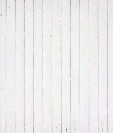 White painted wall, fence, floor, table surface. Wooden texture. Vector illustration Stock Illustratie